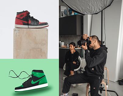 Nike Photoshoot Task Board