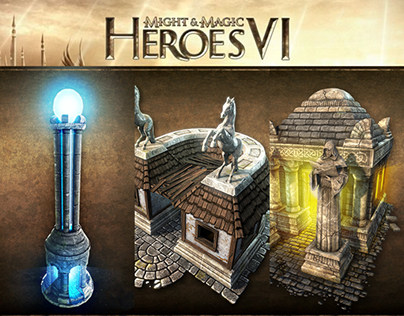 Heroes VI environment objects