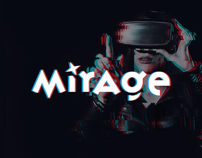 "Logo Design for a VR-company ""Mirage"""
