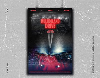 Movie Poster I Mulholland Drive