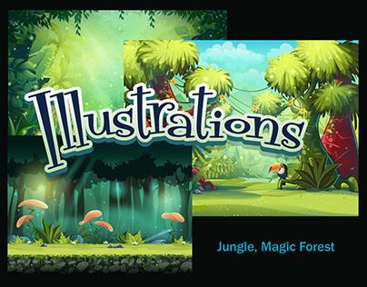 Jungle - Magic Forest