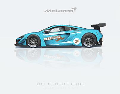 """McLaren 650 S GT3 """"MOVEMBER"""" Livery - 046 Racing Team"""