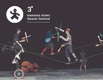 3d Ioannina Street Theater Festival