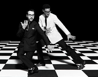 Jeremy Piven and Kid Cudi for Complex