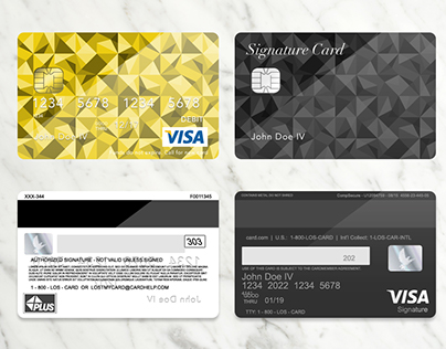 Bank Card (Credit Card) PDS PLUS with ENV Chip