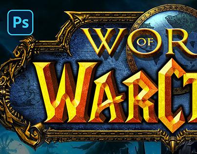 [PSD] WORLD OF WARCRAFT TEXT EFFECT