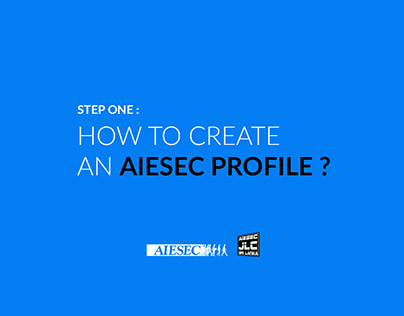 How to Create a AIESEC Profile?