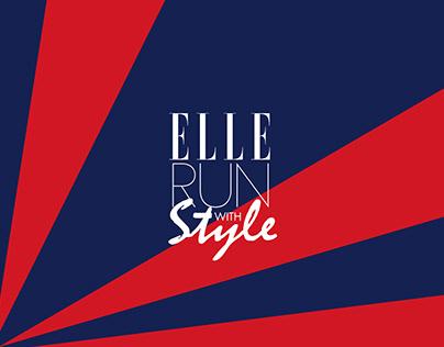 ELLE Run Banner Design