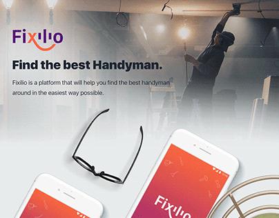 Smart handyman finder concept | UI/UX