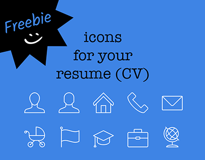 FREE iconset - Resume basics