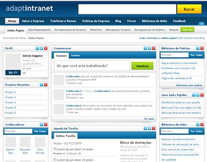 Adaptintranet - Intelligent and Adaptive UI interface