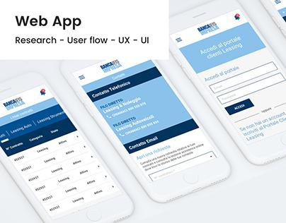Banca IFIF - Web App