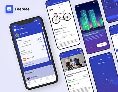 Feebme Multifunctional app