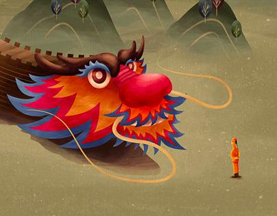 Dragon - Great Wall