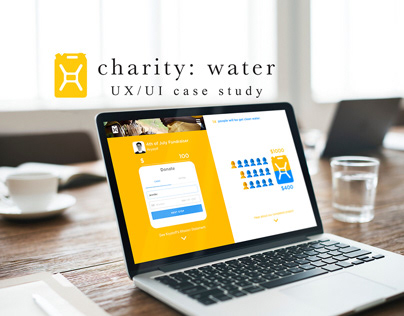 Charity: Water Donation UX UI Case Study