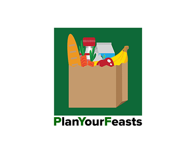 Logo Design for Mobile Application - Plan Your Feasts
