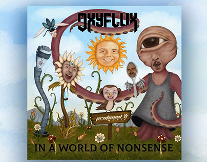 Artwork for EP In a World of Nonsense by Oxyflux