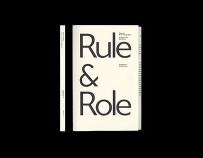 Rule and Role Texts on Book Typography