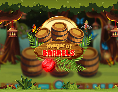 "Game design ""Magic Barrels"""