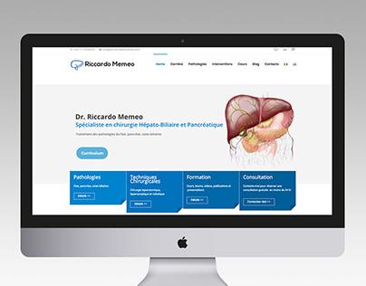 Dr. Riccardo Memeo | Sito web