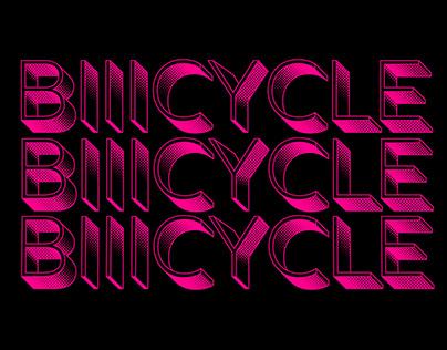 Bicycle Race Kinetic Type