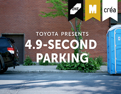 Toyota | 4.9-Second Parking