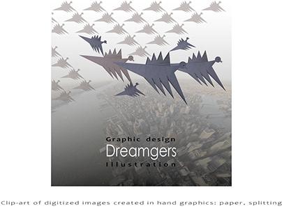 Clip-art «Dreamgers»/paper splitting