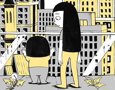 'NEIGHBORHOOD' - illustration series