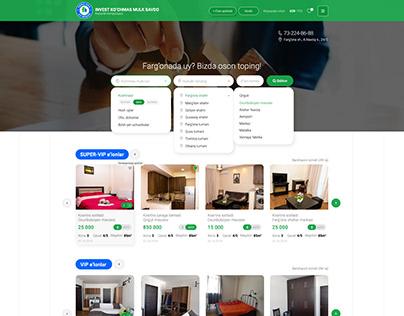 Website design for INVEST