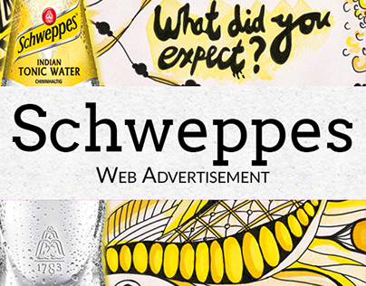 Schweppes - Web advertisement