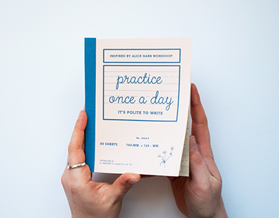 Practice once a day: Modern Calligraphy