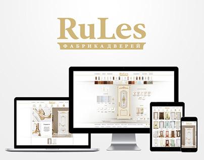 RuLes | Website & Configurator door