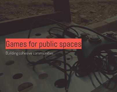 Games for public spaces