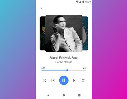 Music App Design [Prototype]