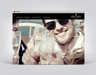Federico de Alvear · Web Site