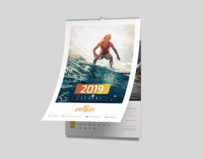 Wall Calendar - 2019