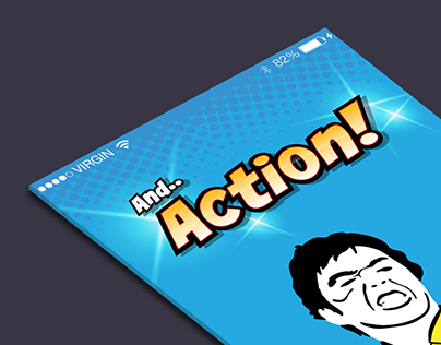 And..Action! Movie Trivia Game