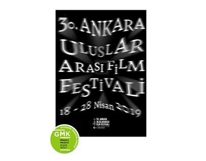 Poster design for 30th Ankara International Film Fest.