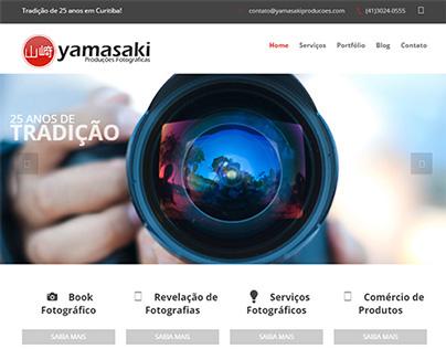 Criação do site Yamasaki Produções