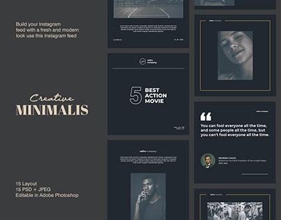 Creative Minimalis - Social Media Template