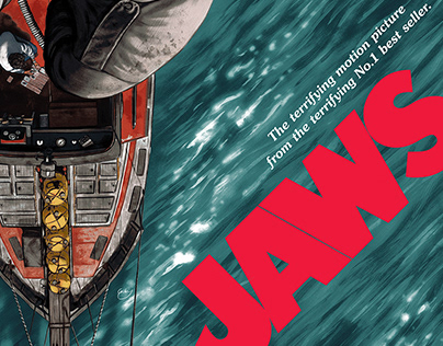 Official Jaws screen print (only available til Monday)