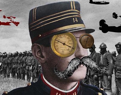 Dada inspired anti art animation