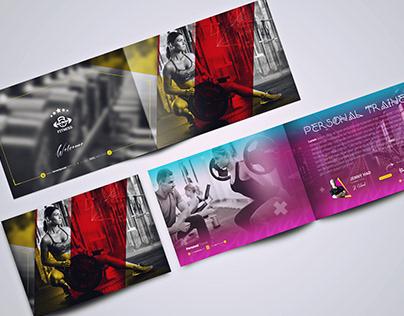 Fitness Gym Catalog Template Design