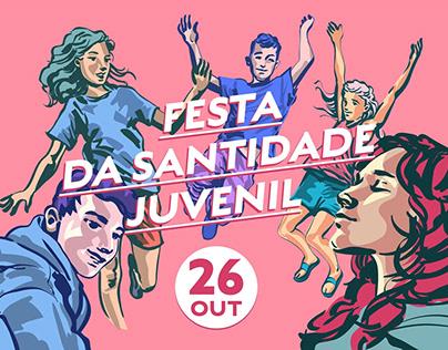Divulgação - Festa da Santidade Juvenil