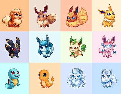 Pokemon Chibified