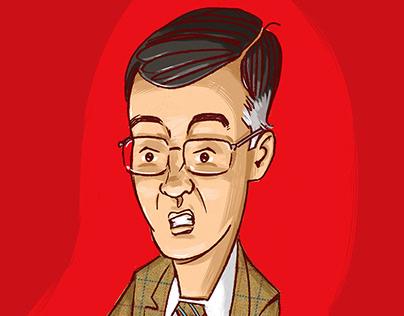 Jacob Rees-Mogg illustration
