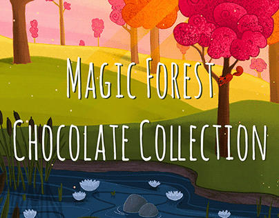 Magic Forest Chocolate Collection