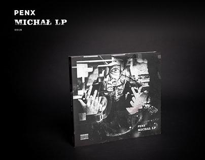 Penx - Michał LP / 2018 / album package design