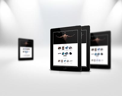 Розробка сайту для Інтернет магазину Sport Life
