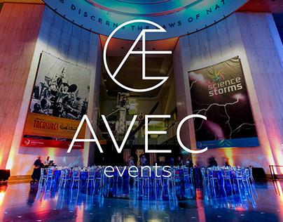 Avec Events Website